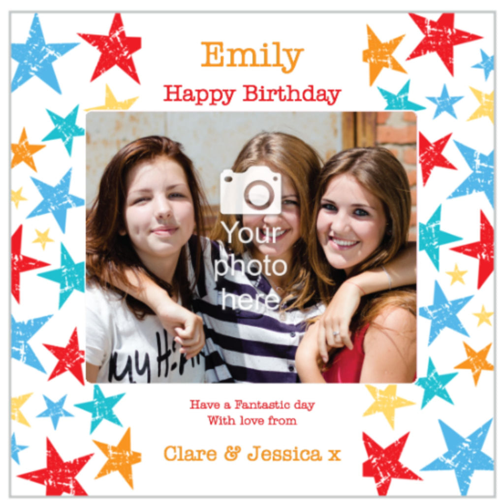 Personalised Fabric Card with Photo
