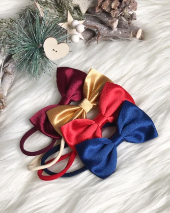 Red Occasion Bow Clip