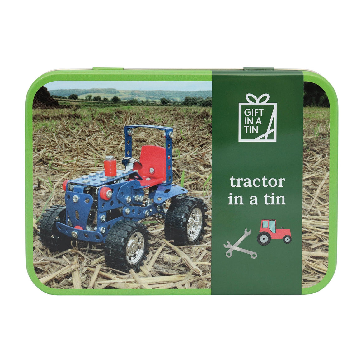 Tractor Gift in a Tin