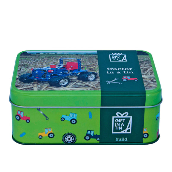 Gift In a Tin - Tractor