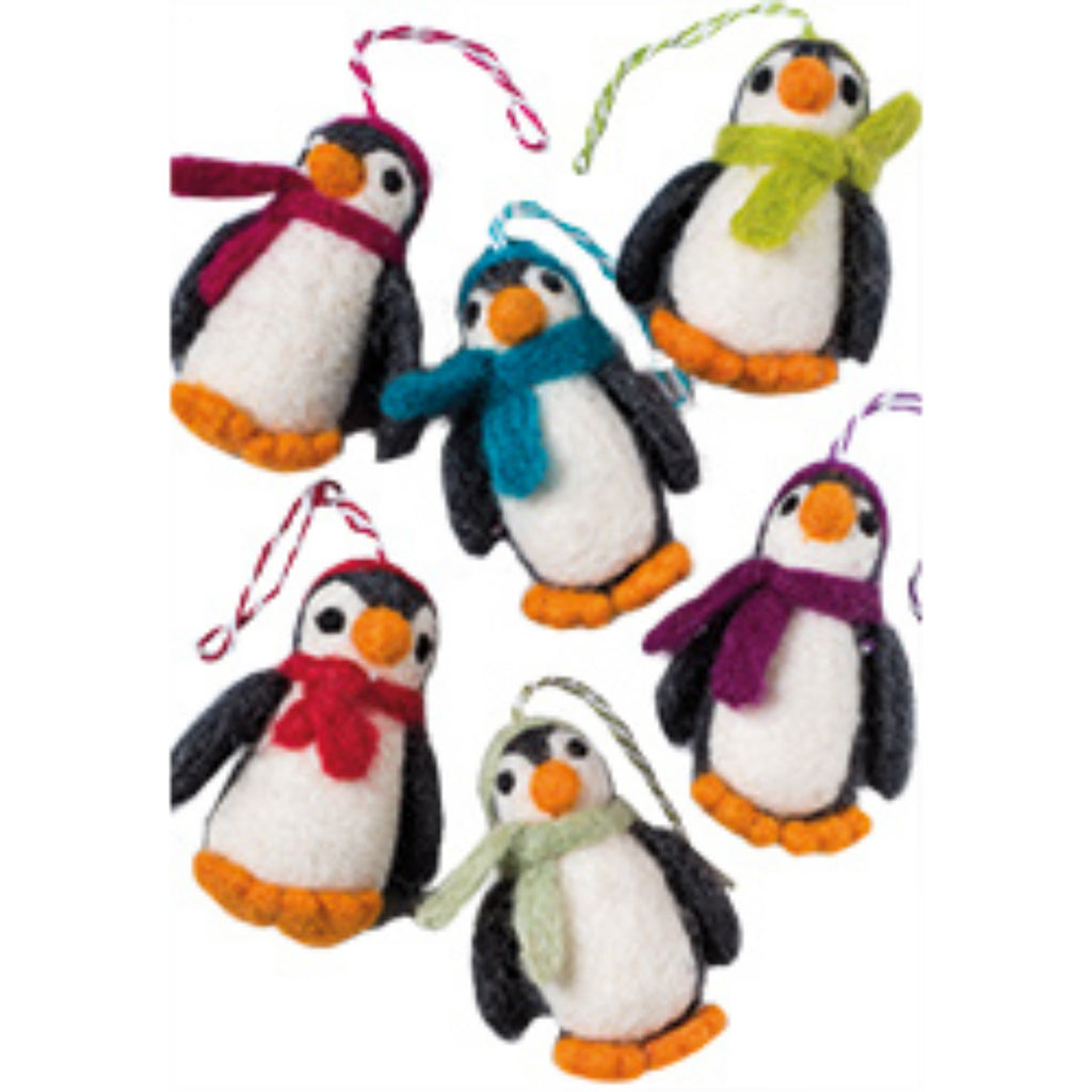 Felt Penguin Decoration