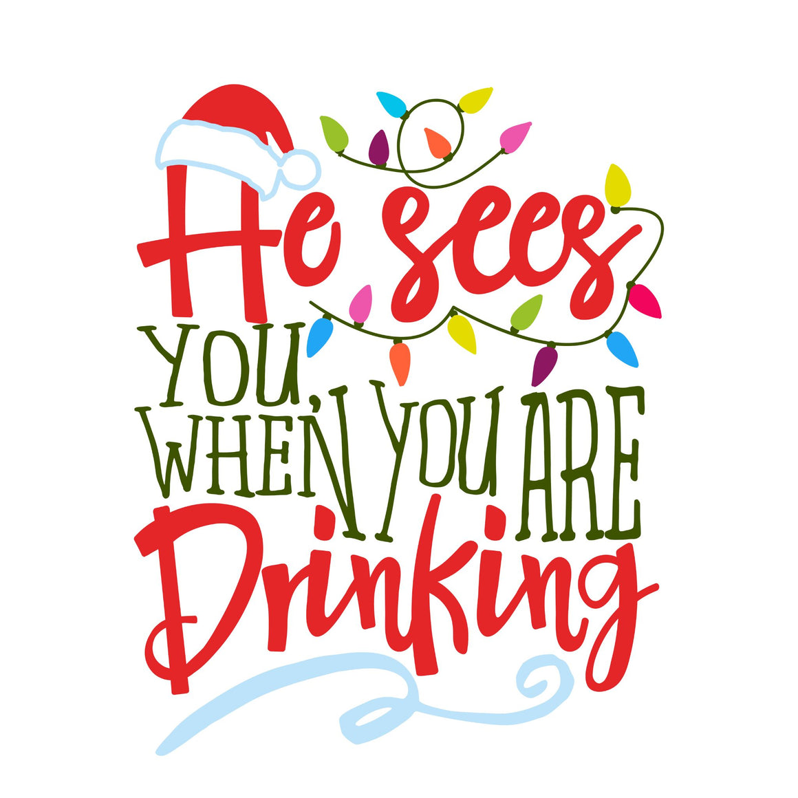 Drinking Christmas Cards
