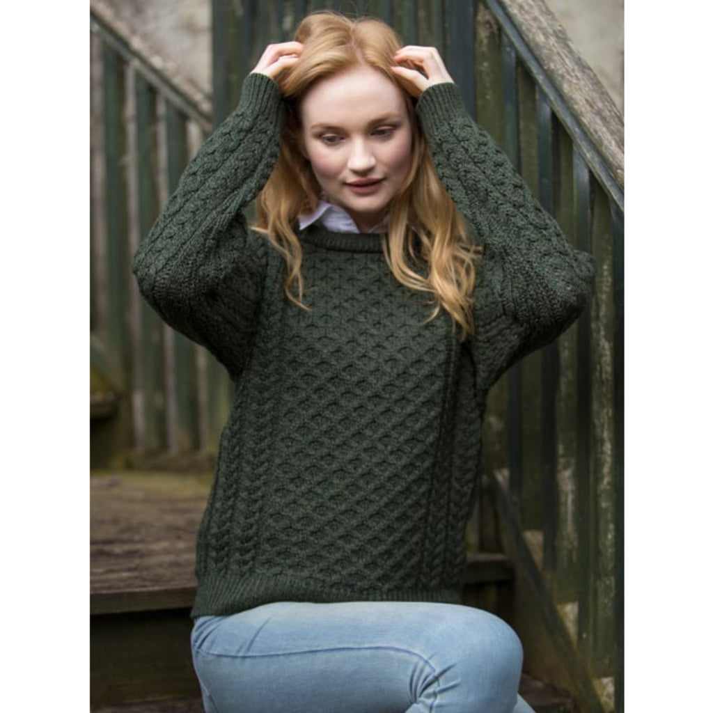 Traditional Irish Aran Jumper