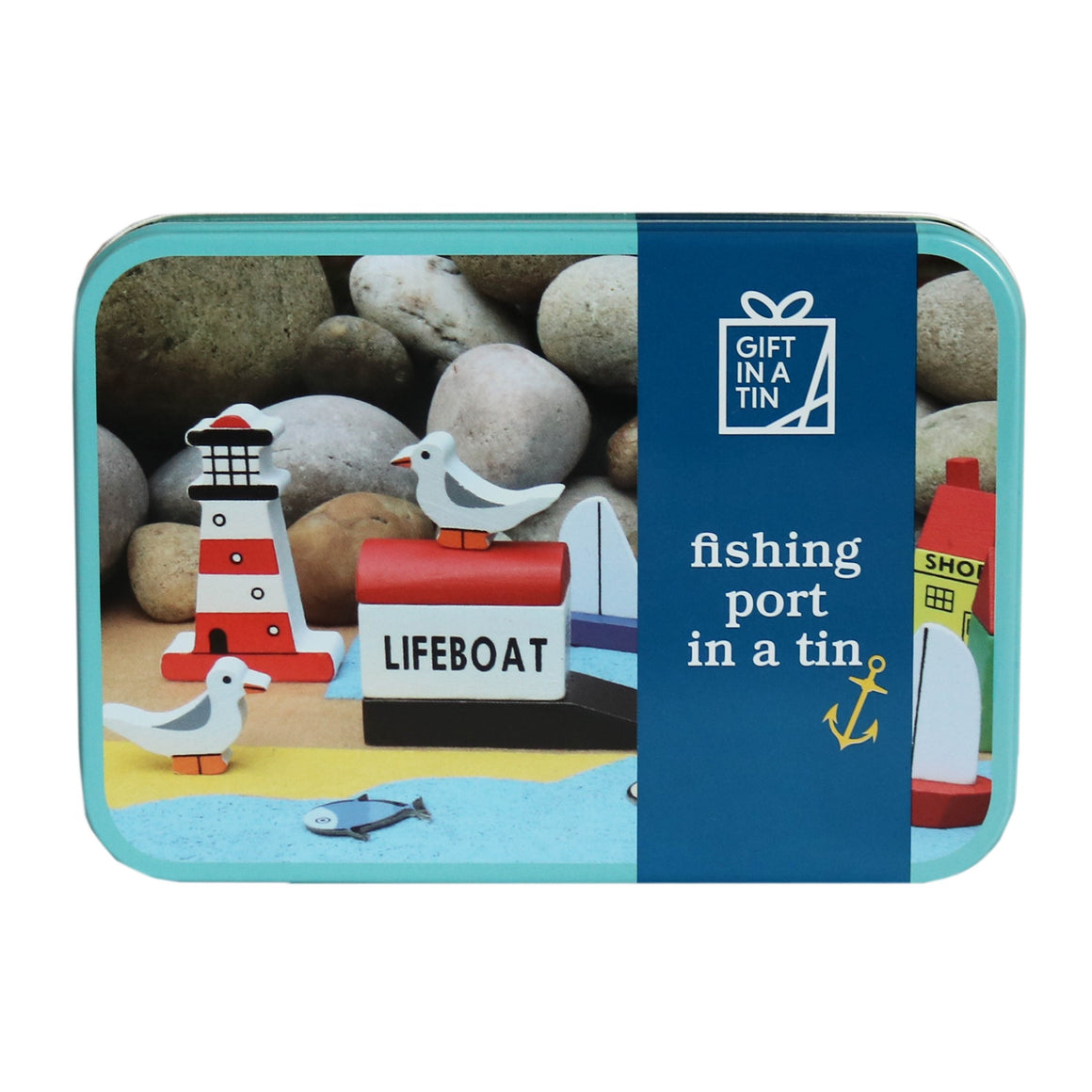 Fishing Port Gift in a Tin