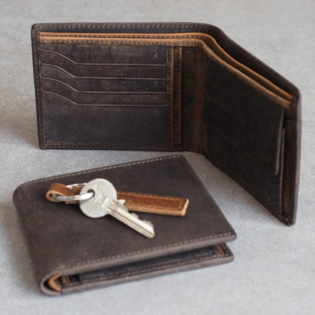 Buffalo Leather Handmade FairTrade Wallet