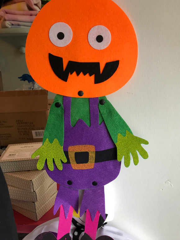 Fabric and Felt Halloween Decorations