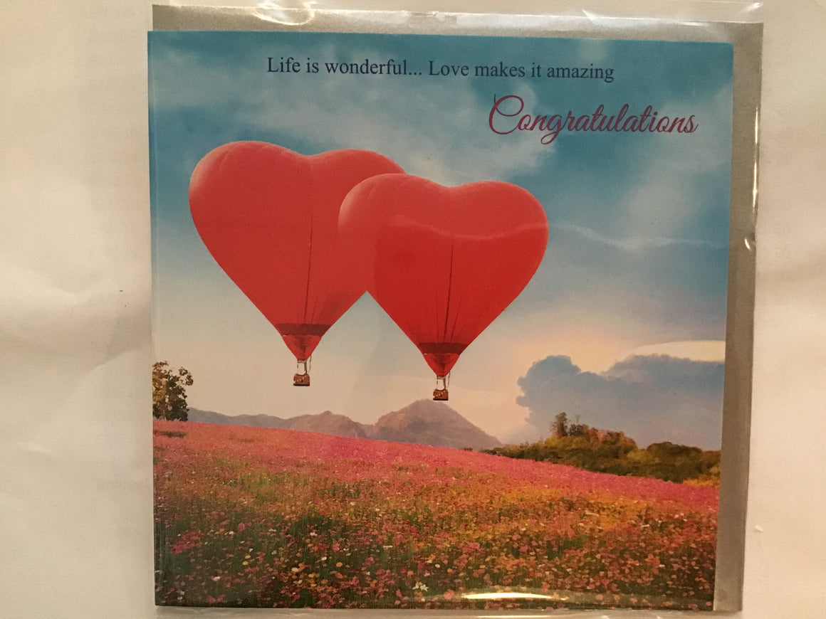 Baroque cards- Balloons