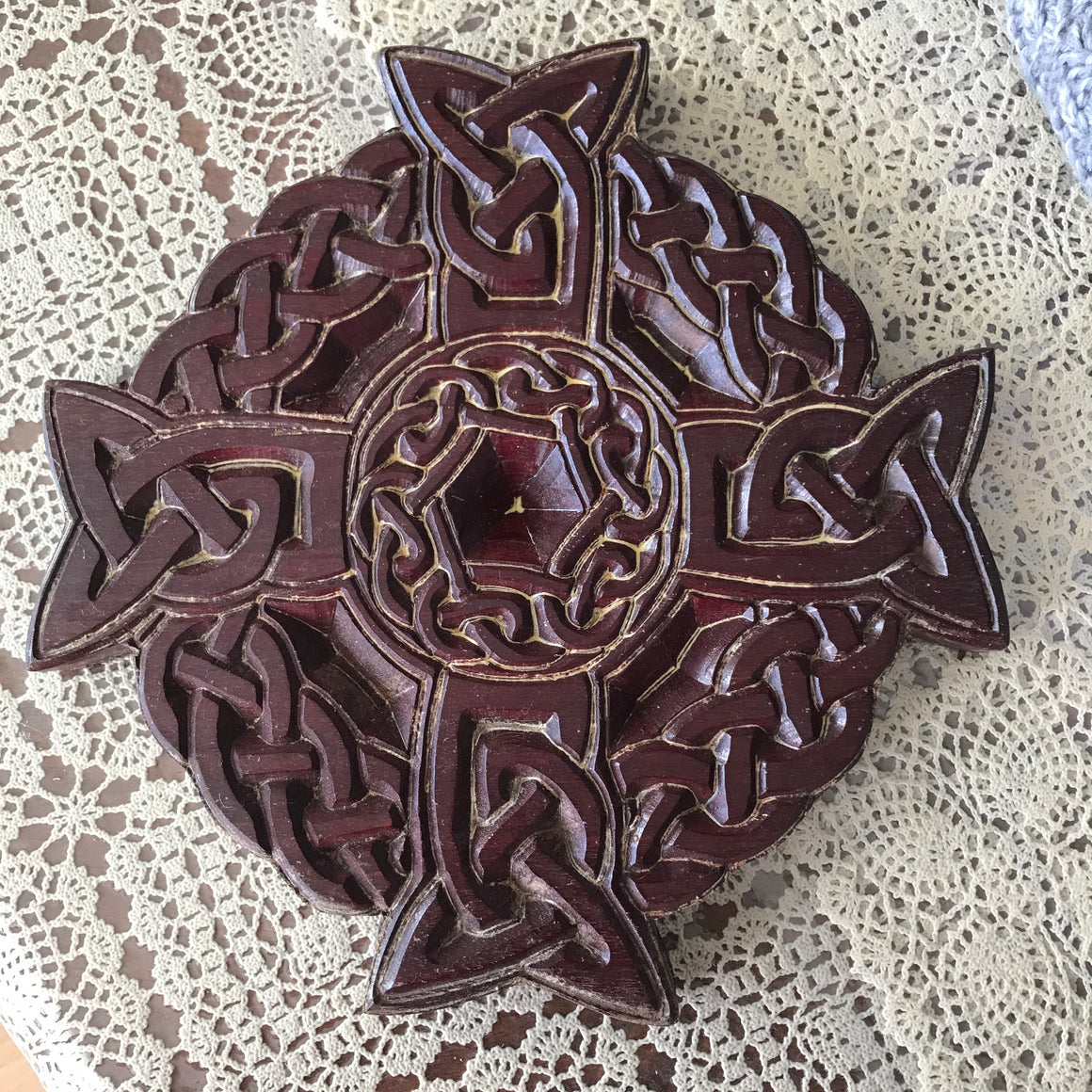 Hand Carved Wall Decoration