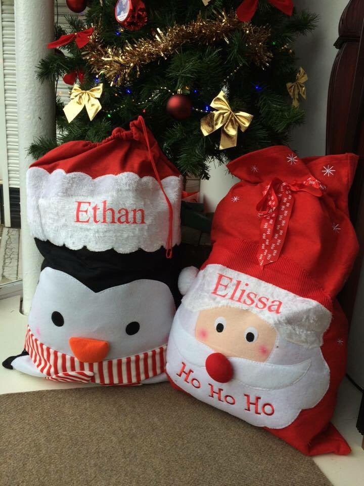 Personalised Santa Sac