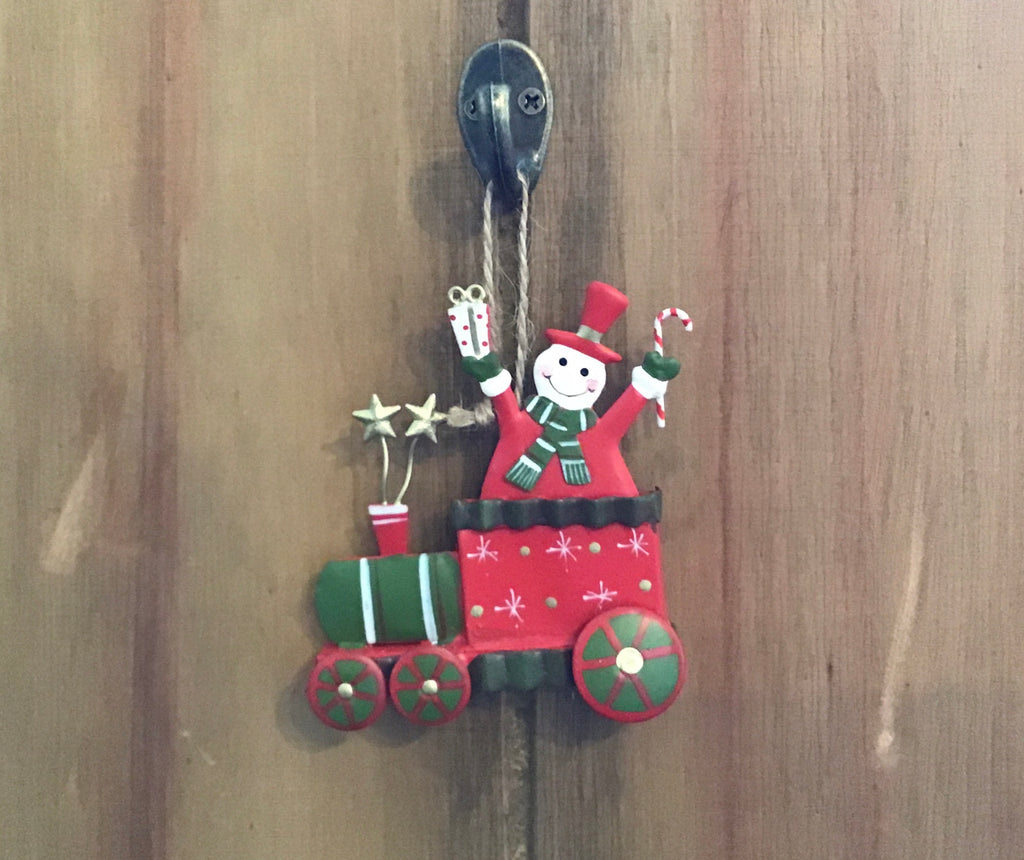 Christmas Train Hanging Ornament