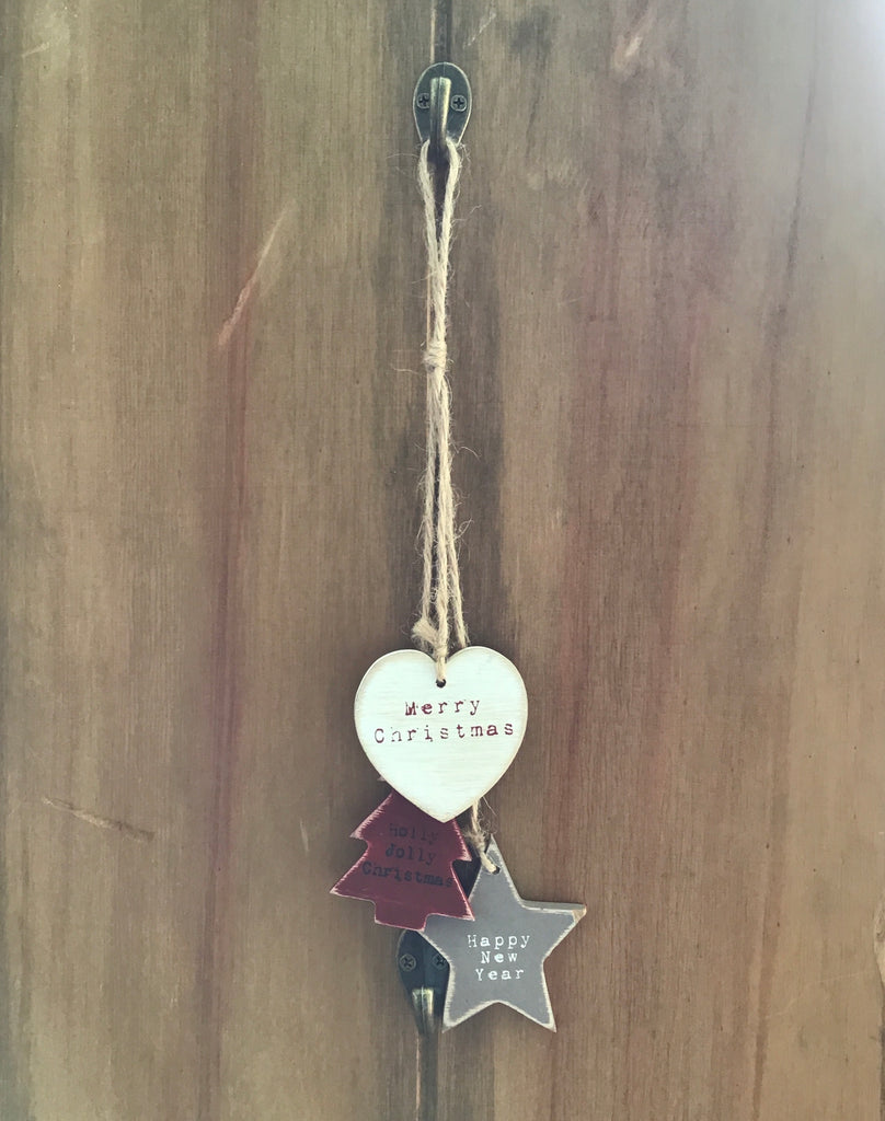 Merry Christmas hanging decoration