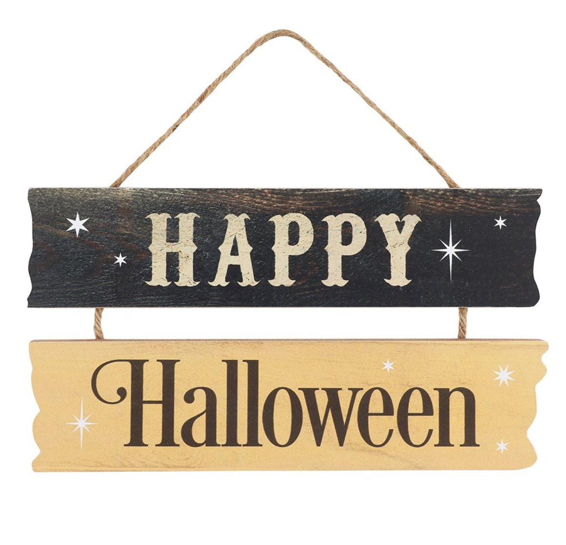 Happy Halloween Hanging Sign