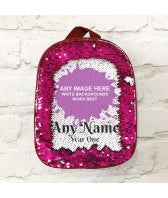 Personalised Sequin Back Pack