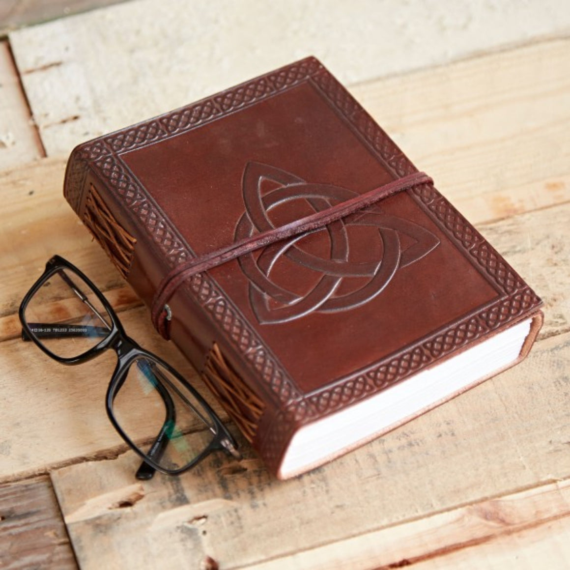 Celtic Handmade Fairtrade Leather Journals