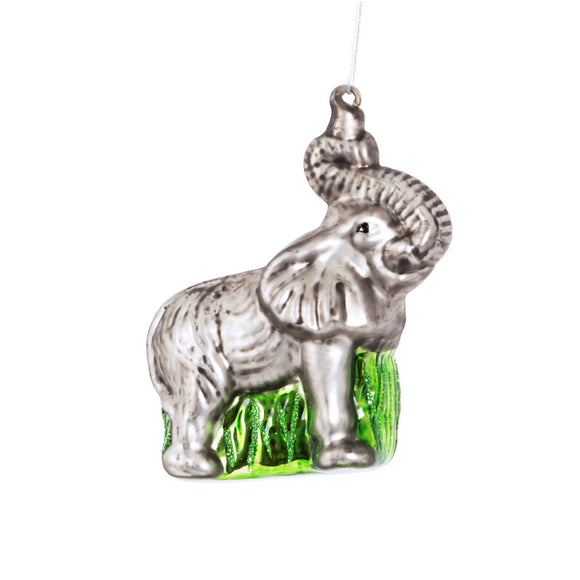 Jungle Elephant Bauble