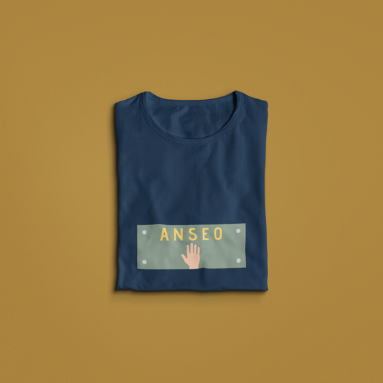 Anseo - Adult Unisex - T-Shirt - Navy