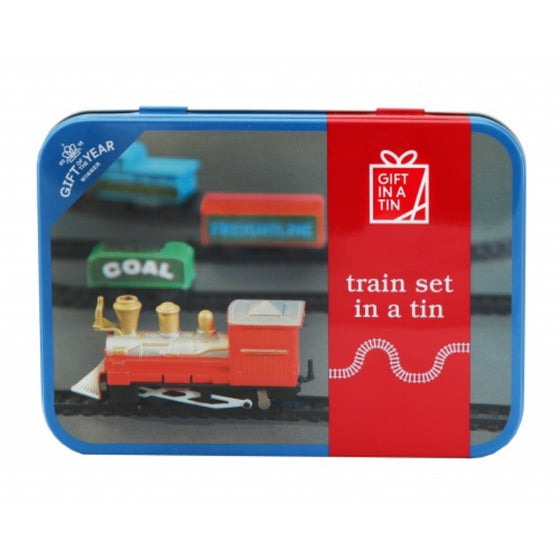 Train Set Gift In a Tin