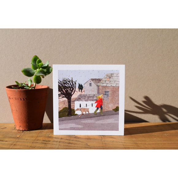 Windy Day Card