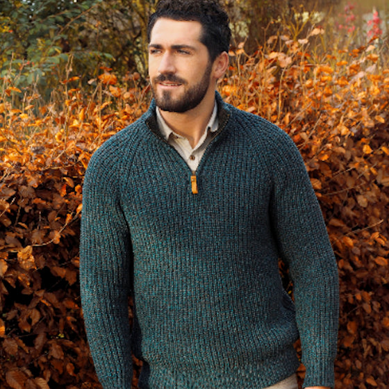 Men's Sweater - Half zip