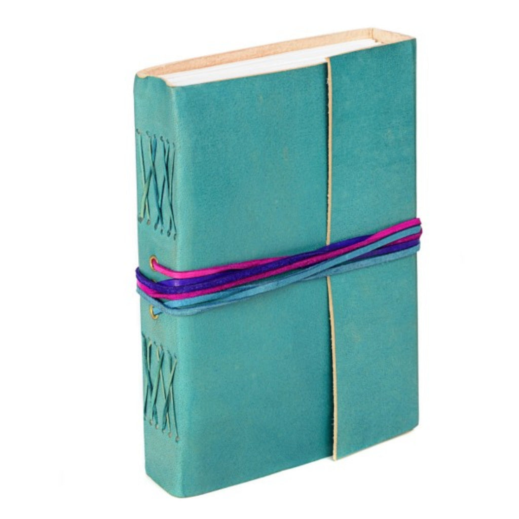 Coloured Handmade Fairtrade Leather Journals