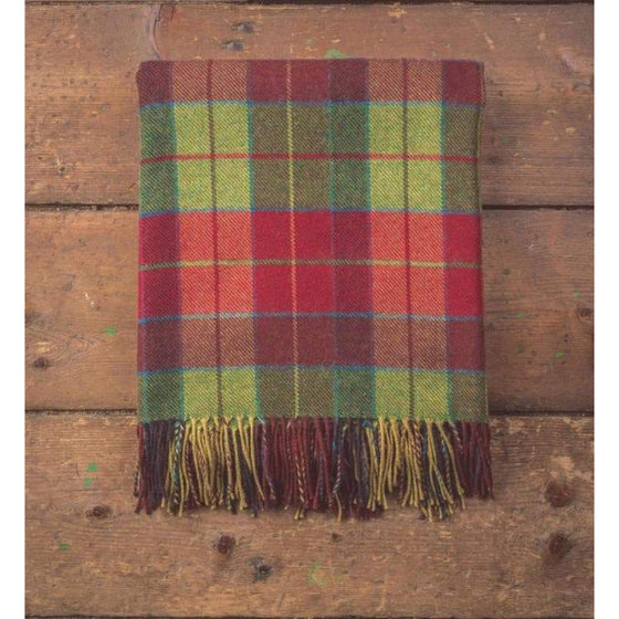 Foxford Throw Heritage Wicklow Tartan