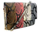 Roberto Cavalli Class Multicolor Large Milano Shoulder Bag at 310.47