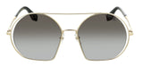 Marc Jacobs MARC325S 02F7 Aged Light Gold Round Sunglasses