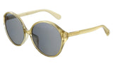 Marc Jacobs  Gold Round Sunglasses