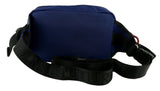 Versace Jeans Couture Blue Technical Fabric Adjustable Waist Bag/Fanny Pack