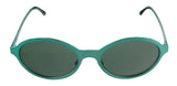 Burberry 0BE3069 11777152 Green Oval Sunglasses