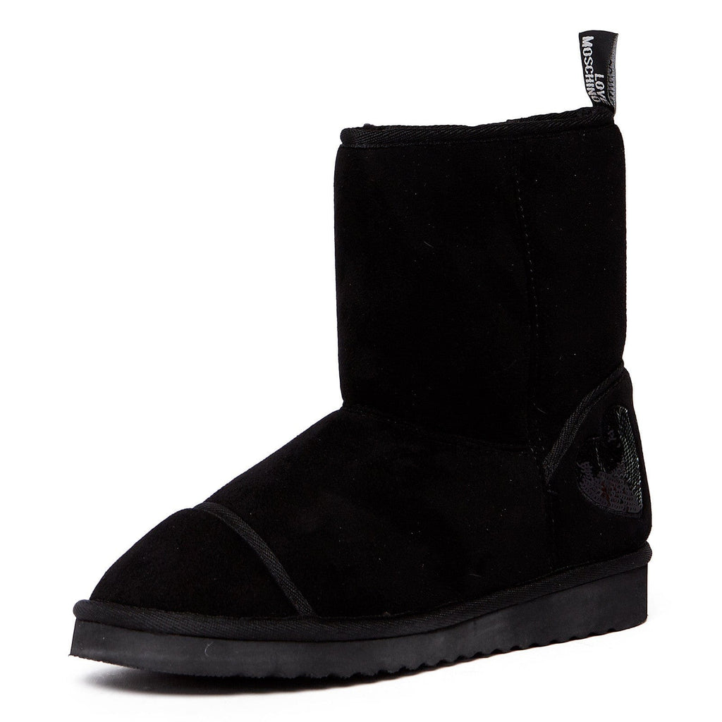 Love Moschino Black Ankle Snow Boots