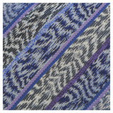 Missoni U4305 Blue/Purple Flame Stitch 100% Silk Tie at