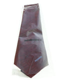 Missoni U5573 Wine/Black Pencil 100% Silk Tie at
