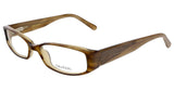 Vera Wang V 033 BR 49 Brown Full Rim Womens Optical Frame
