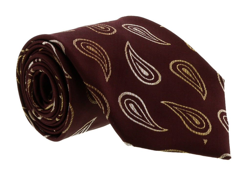 Gianfranco Ferre J094 U9E Eggplant Silk Mens Tie at 38.09