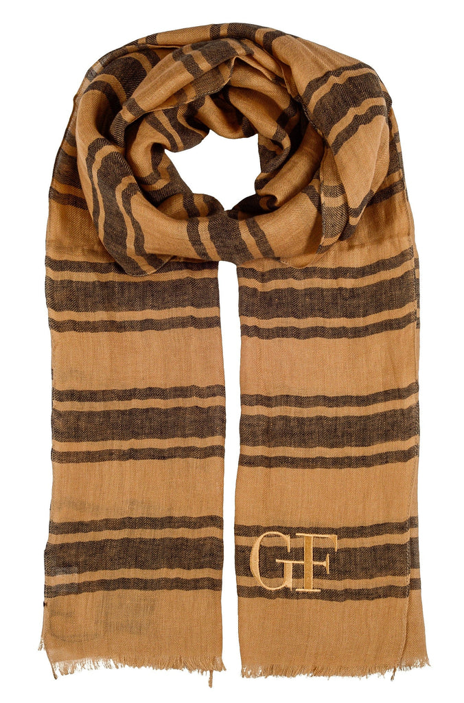 Gianfranco Ferre SCR92844/9 Mustard/Black  Scarf at