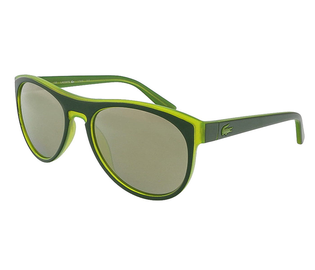 Lacoste  Green-Acid Green Rectangle Sunglasses