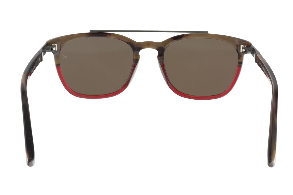 Ermenegildo Zegna EZ0044/S 65J Burgundy Square Sunglasses at
