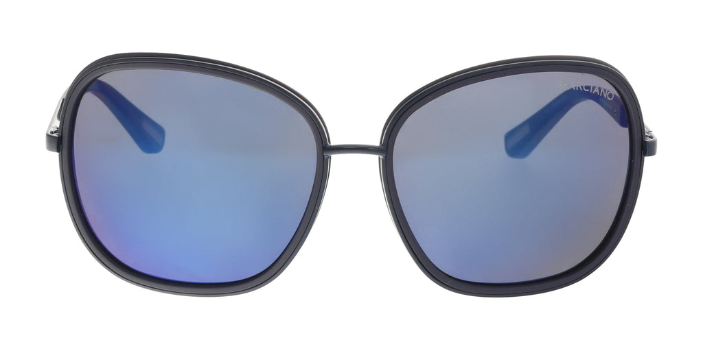 Guess by Marciano  Navy Rectangular Sunglasses