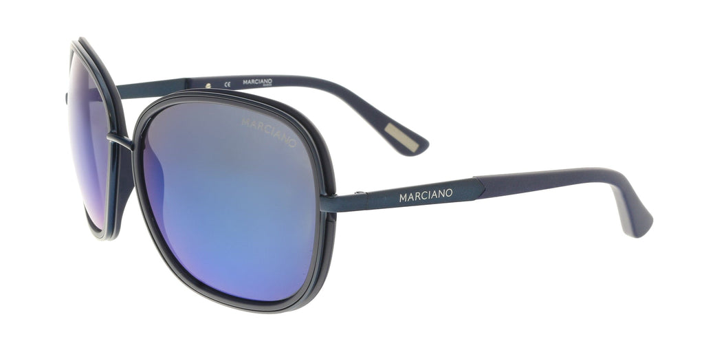Guess by Marciano GM0734 92X Navy Rectangular Sunglasses