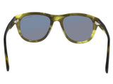 Tom Ford FT0520/S 98A BENEDICT  Green Round Sunglasses