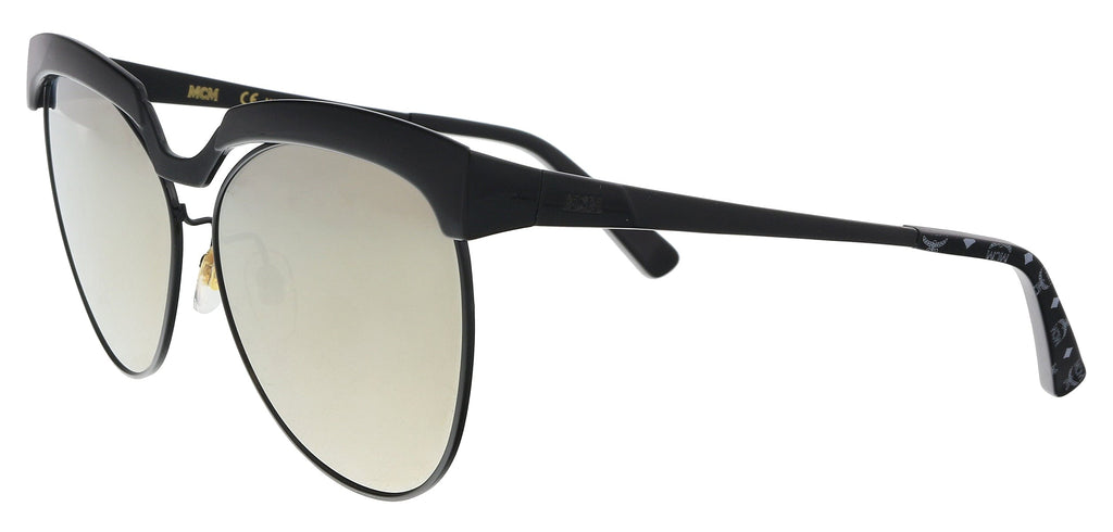 MCM MCM105S 001 Shiny Black    Tea Cup Sunglasses at 85.70