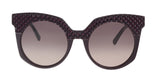 MCM MCM643SR 513 Purple Round Sunglasses at