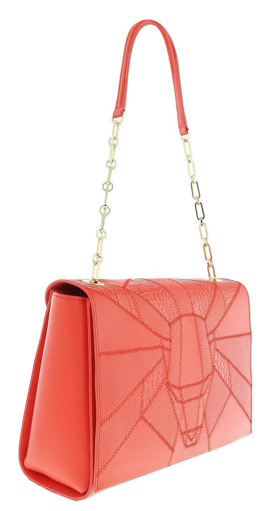 Roberto Cavalli  Class Elisabeth Coral Medium Shoulder Bag at 258.09