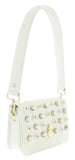 Roberto Cavalli GQLPAS 10 White Milano Rmx 0 Medium Shoulder Bag at 263.17
