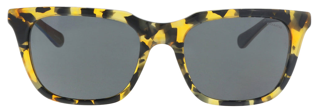 Coach HC8236 538887 Honey Mosia Rectangle Sunglasses at 66.66