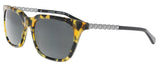 Coach HC8236 538887 Honey Mosia Rectangle Sunglasses at