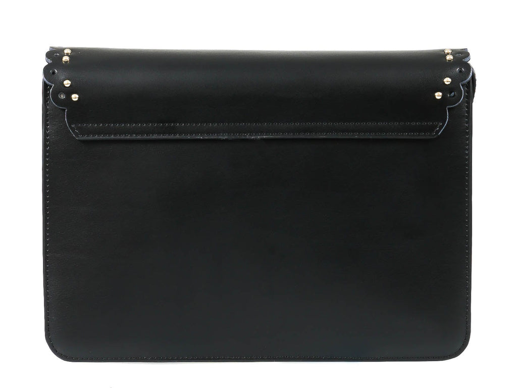 Roberto Cavalli Class GWLPEZ 999 Leolace 003 Black Shoulder Bag at