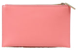 Roberto Cavalli Class GWLPD0 T30 Aloha 001 Peach/Silver Clutch at
