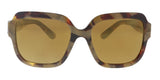 Dolce & Gabbana DG4336 31706H Havana Pear Square Sunglasses at 161.90